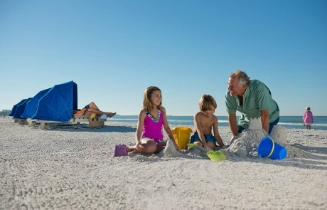 Building Sand Castles with the Family