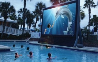 Dine-in Movies at Island Grand